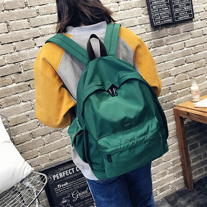 Female sex Backpack Student College Nylon Travel Security Waterproof School Bags College Teenage Male 15inch Laptop Backpack