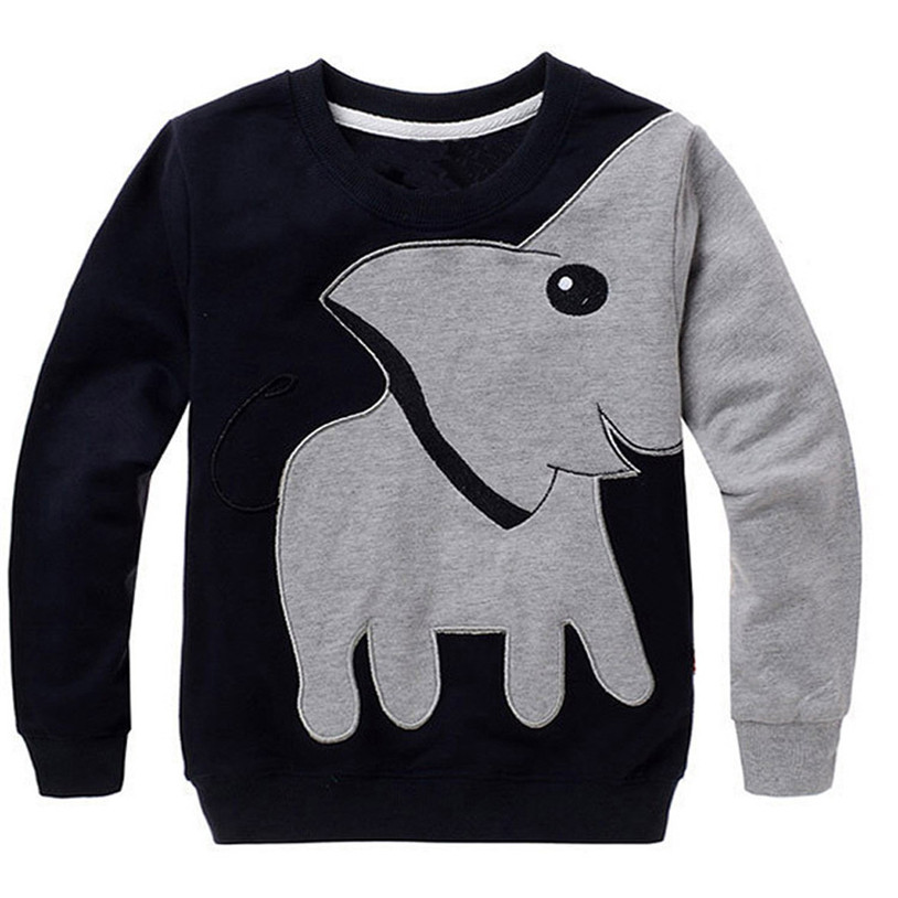 TELOTUNY Hoodies thick warm winter boys children clothing