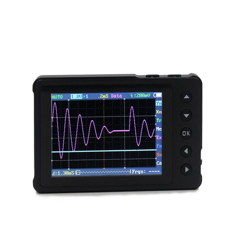 DSO Nano V3 Digital Oscilloscopes USB Mini Oscilloscope Kit LCD 200Khz Analog Bandwidth Osciloscopio +Buit in Signal Generator