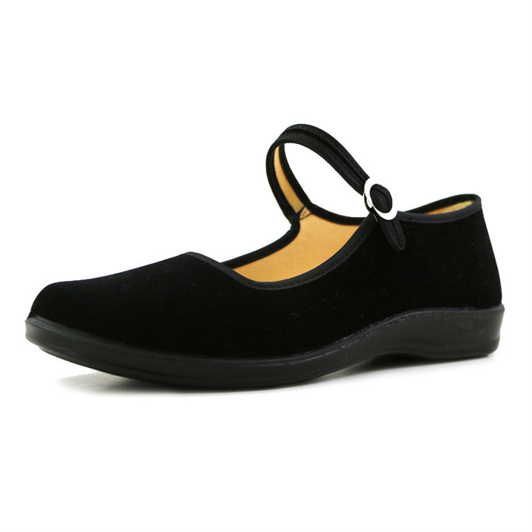 Breathable Women Flats Worker Shoes Professional Hotel Restaurant Waiter Shoes Dancing Shoes Medium Heel Women S 2 receivers 60 buzzers wireless restaurant buzzer caller table call calling button waiter pager system