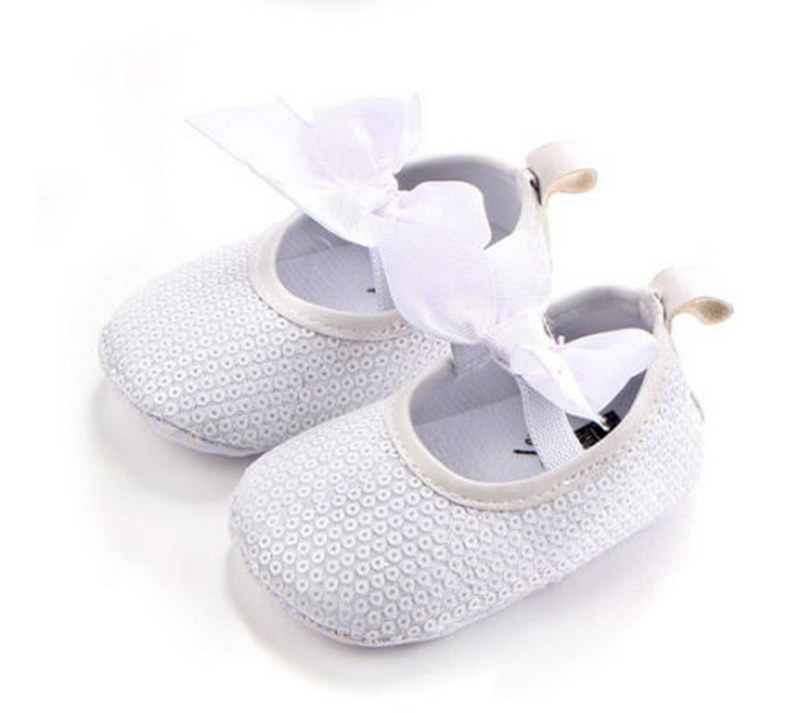Adorable Babies Girls Sequins Sandals Boot Crib Infant Soft Slipper Shoes 0-18M