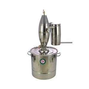 Image 2 - 30L paslanmaz çelik şarap yapımı kazan ev demlemek kiti imbik