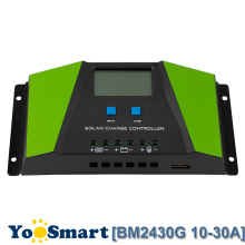 PWM Solar Charge Controller 10A 20A 30A 12V 24V Auto with LCD Display USB Output Cell Panel Regulator PV Home System