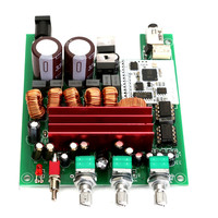 50Wx2 100W Bluetooth 4 0 Audio Receiver HiFi TPA3116 Stereo Amp Amplifier Board New Electric Integrated