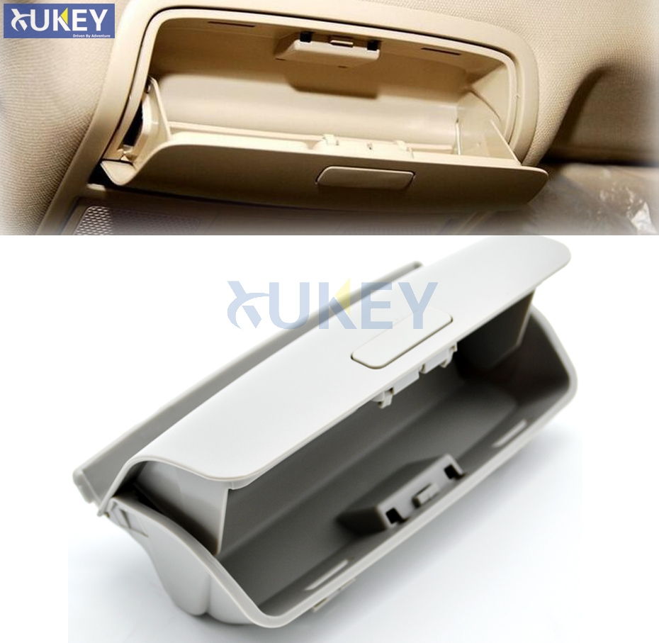 Car Roof Sun Glasses Box Sunglasses Flip Top Case Storage