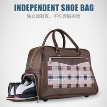 brand PGM. Two separated space for clothing and shoes bag, Storage Clothing Bag Travel Tote Bag, TOP-GRADE Anti-friction Nylon