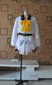 Tsuki Uta Isaki Kireina White Uniforms Cosplay Costume Free Shipping