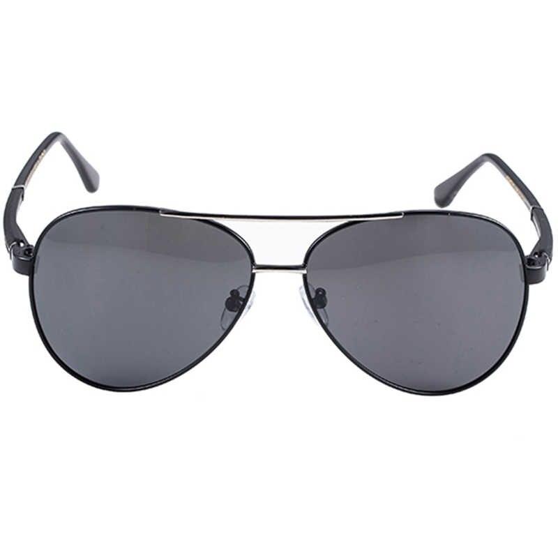 New Pilot Sunglasses for Men Anti-fatigue Polarized Sun Glasses Summer Male Sun Glasses Eyewear Frames Male Glass Lens De