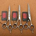 5.0'' 5.5'' 6.0'' Japan Kasho 440C Professional Human Hair Scissors Hairdressing Scissors Cutting Shears Thinning Scissors H1021