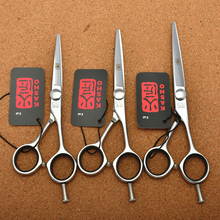 "5.0"" 5.5"" 6.0"" Japan Kasho 440C Professional Human Hair Scissors Hairdressing Scissors Cutting Shears Thinning Scissors H1021"