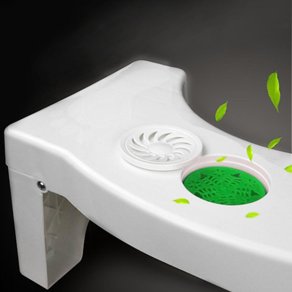Foldable For Kids Footstool Anti Constipation Bathroom Plastic Squatting Stool Toilet 3