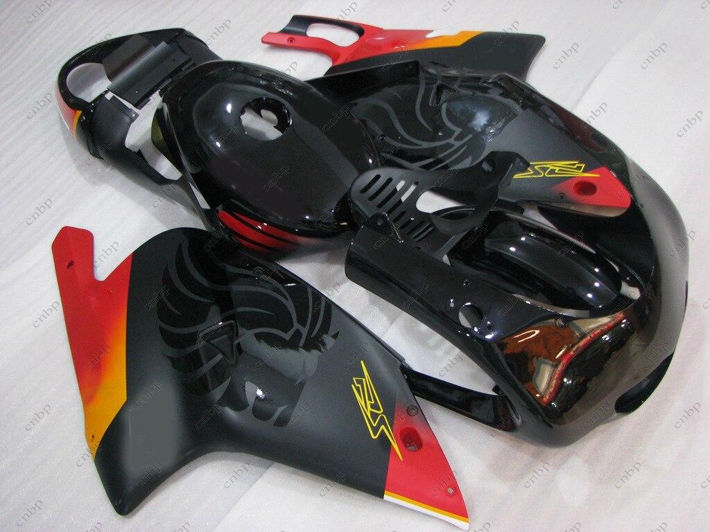 Fairings RS125 02 03 Full Body Kits RS125 01 00 2000 - 2005 Black Red Plastic Fairings RS 125 01 00