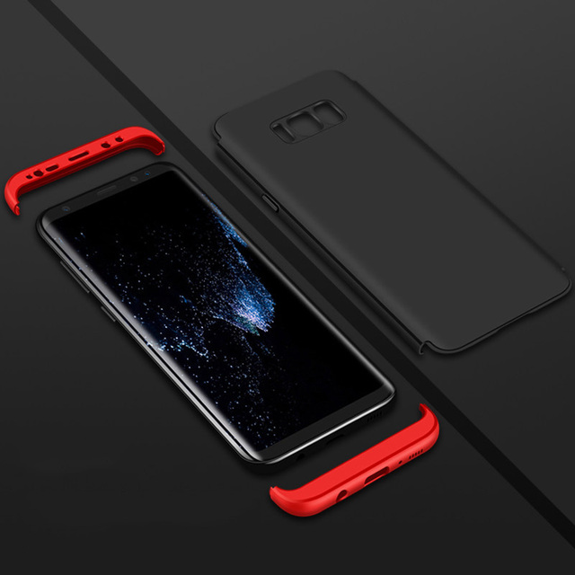NAGFAK Luxury 360 Full Cover Phone Case For Samsung Galaxy S9 S8 Plus Case Protection Cover For Samsung S8 Note9 S9 Note8 Case