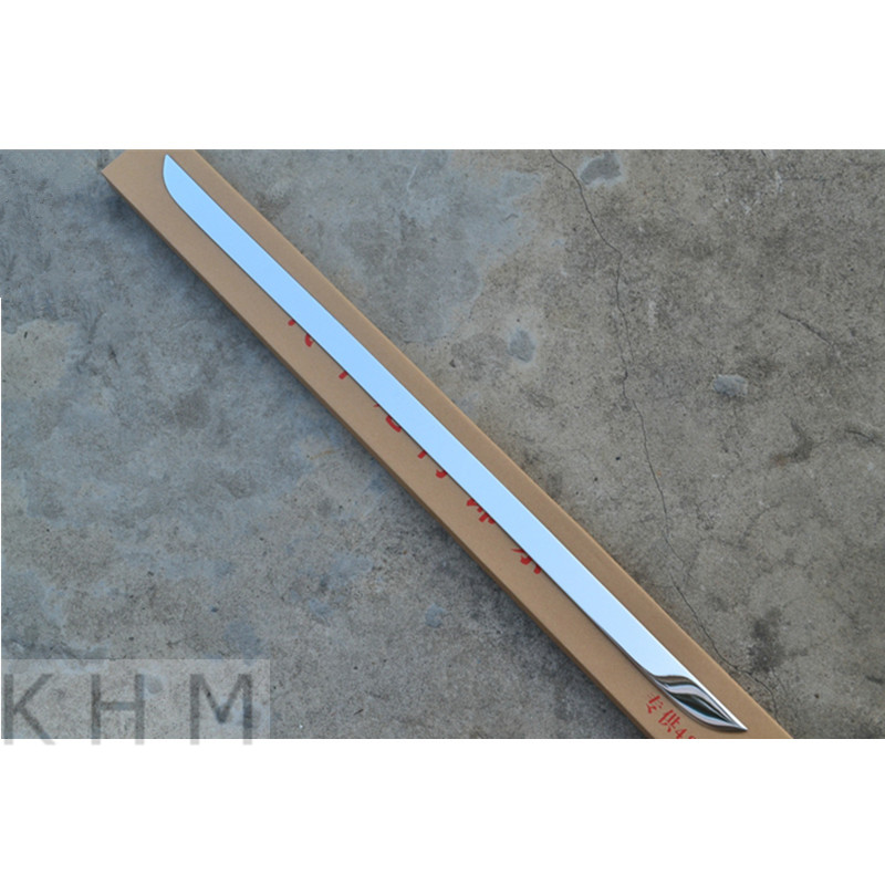 High quality stainless steel Rear Trunk Lid Cover Trim For2013 Skoda  Rapid