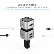 Hifi Fm transmitter and USB Port Car Phone Charger