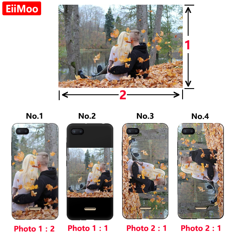 huge discount 1eef3 85c12 US $2.0 50% OFF EiiMoo Custom Photo Phone Case For Huawei Y6 Y5 Y7 Y9 Pro  Prime 2018 Cover Personalised Silicone Case For Huawei Nova 4 3 3i 3E-in ...