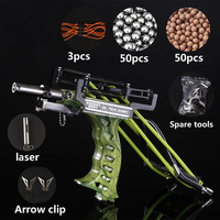 Slingshot Outdoor Powerful Slingsho Laser Slingshot Red Hunting Bow Slingshot Fishing Slingshot Shooting Arrow Bow