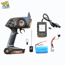 RBR/C WPL transmission dedicated full-size RC model / ship model universal remote control 2.4g RC full scale remote control receiver esc upgrade op fitting accessories for wpl rc car ship model 634f