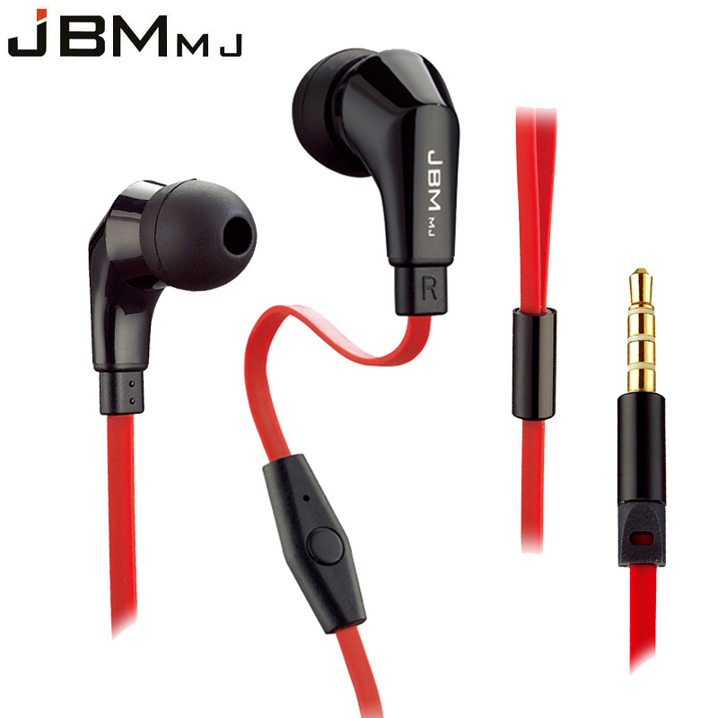 Original JBMmj720 In-Ear Earphones Great Sound 3.5mm Super Bass Earphones With Mic Cell Phone for IPhone for Samsung
