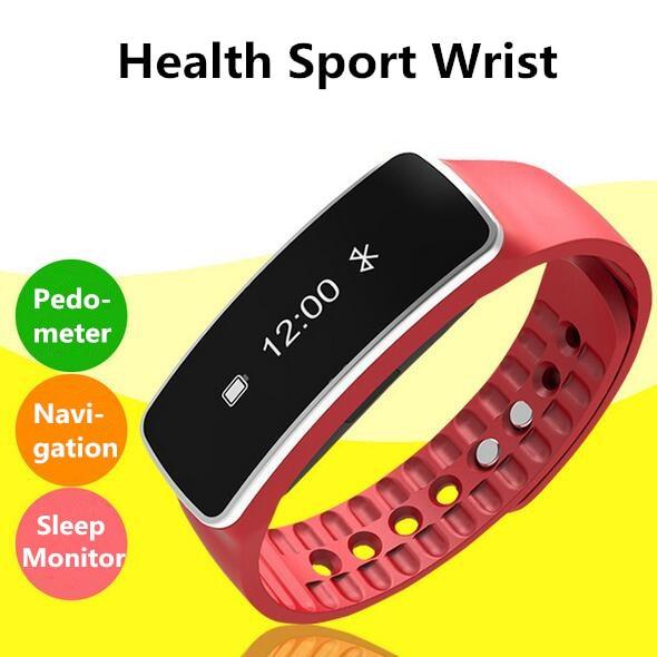 2017 Fitness Tracker Sleep Monitoring Waterproof Smart Wrist Band