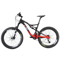 Professional All Mountain 27 5er Mtb Bicycle Xtreme 7 Full Carbon Full Suspension Mountain Bike 2017