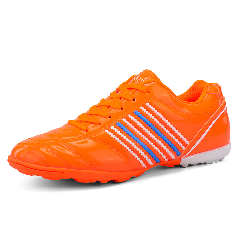 Indoor Futsal Shoes Sneakers Men Football Soccer Shoes Young Student Training Light Breathable Artificial grass Ground Footwear