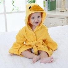 Детское полотенце детский халат с капюшоном животное детская мультяшная полотенце детский купальный Халат детское полотенце Toalha De Banho Handtuch Badjas Toallas