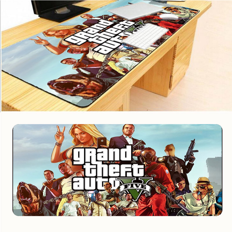 Mairuige 300x900mm Size V Gta Grand Theft Auto Rockstar Games Computer Gaming Mouse Pad Gamer Tapetes De Jogo