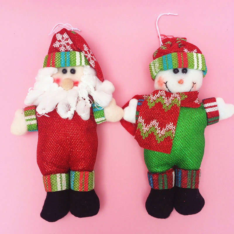Cool Snowman Decoration Ornaments For Christmas Tree: 2015 Merry Christmas Tree Decorations Snowman Santa Claus