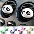 Novo Estilo Do Carro Ambientador 1 Conjunto Carro Ar Condicionado Ventilação Perfume Panda Olhos Vão Saltar 5 Cores Parfume
