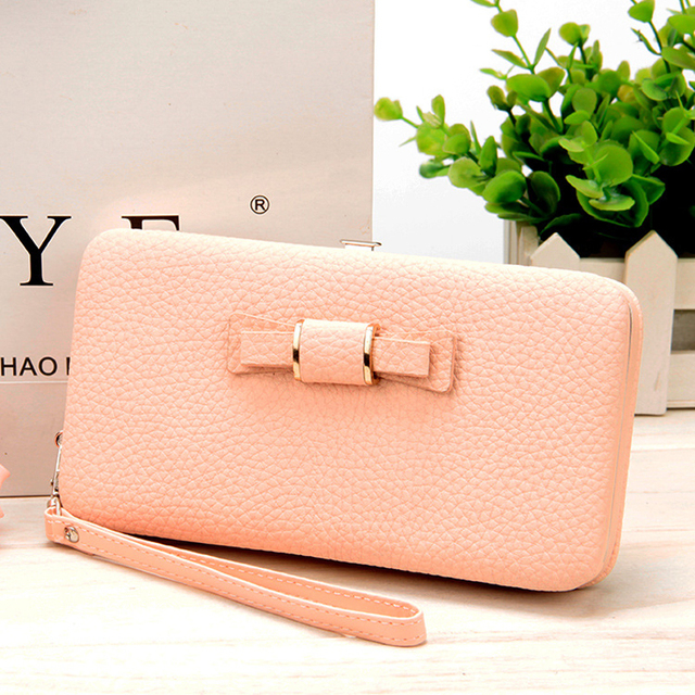 10 colors Purse wallet female famous brand card holders cellphone pocket gifts for women money bag clutch 888 4
