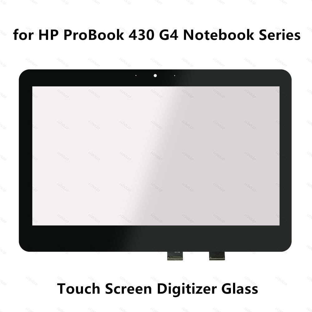 13.3 inch Laptop Touch Screen Digitizer Glass Panel Replacement Parts (Not LCD display) for HP ProBook 430 G4 Notebook PC Series 11 6 inch laptop assembly for hp pavilion touchsmart 11e lcd display screen touch screen with ab cover replacement repair panel