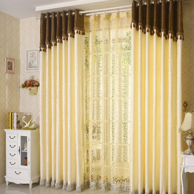 Charmant Free Shipping Textile Living Room Curtains Simple And Stylish Bedroom  Curtains Curtain For Window