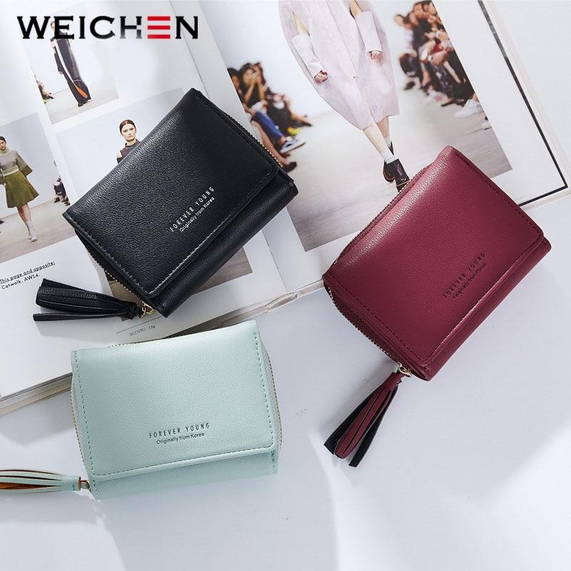 Weichen borla colgante de las mujeres carteras con cremallera Coin - Monederos y carteras - foto 4