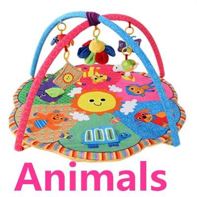 Bébé Doux tapis de Jeu Jeu Couverture Pad Enfants Jouer Tapaete Cadre de remise en forme Éducatifs Bébé Jouets Tapis De Montée Ramper Baby Gym couverture - 4