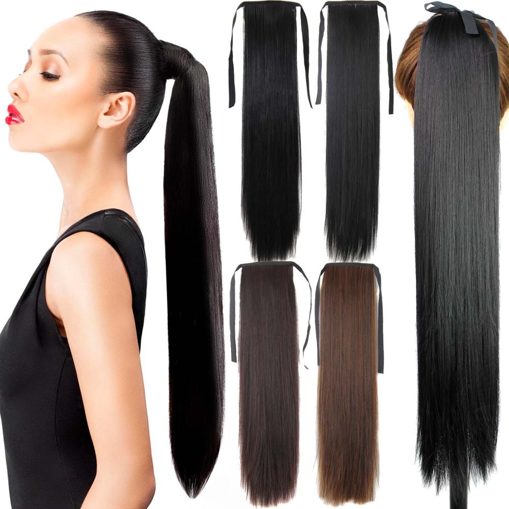 Astounding Online Get Cheap Fake Hair Ponytails Aliexpress Com Alibaba Group Hairstyles For Women Draintrainus
