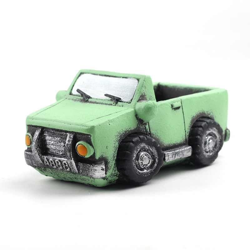 Cute Cars Silicone Mold for Cement Flowerpot Concrete Mould Handmade Home Decoration Tool