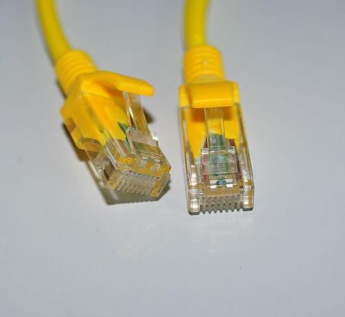 ABDO 2019 CAT6 plana UTP câble de câble Ethernet câble de câble rouge RJ45 parche câble LAN 103