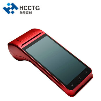 58mm Printer NFC Handheld Android POS With 1D 2D Scanning  Android 9.0 HCC-Z91