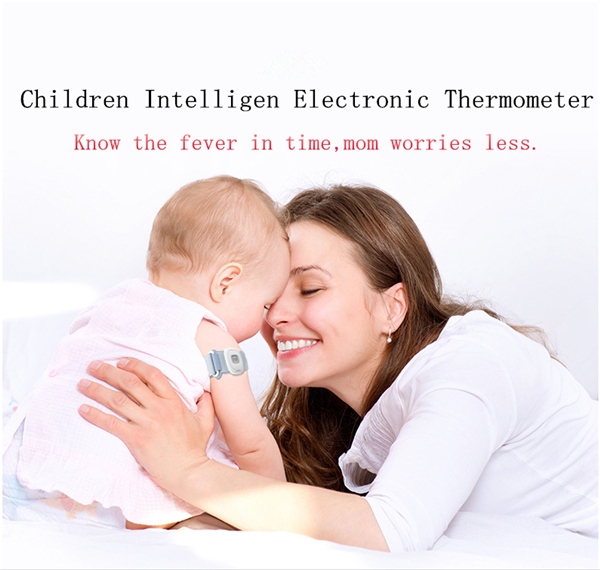 2017 Hot Sales Child Intelligent Thermometer Wearable Electronic Bluetooth home Smart Baby Thermometer & Temperature Monitoring