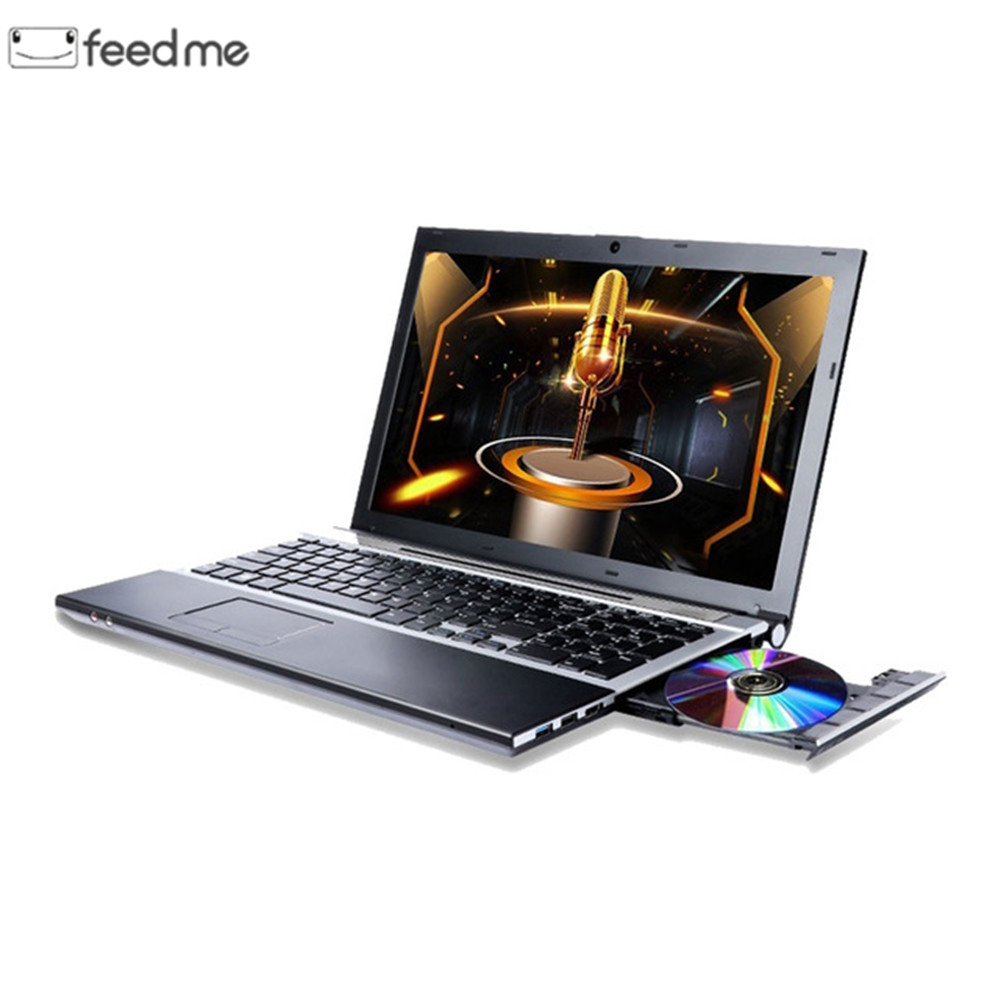 15.6 pouces 8 GB RAM 512G SSD avec DVD-pilote ordinateur portable Intel i7-3517U processeur IPS 1080 P écran ordinateur portable Windows 10 Ultrabook