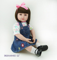 Для новорожденных Кукла реборн детская игрушка силиконовые 23''58cm реальной жизни Babe Heavy Реалистичная кукла NPK коллекции тепла