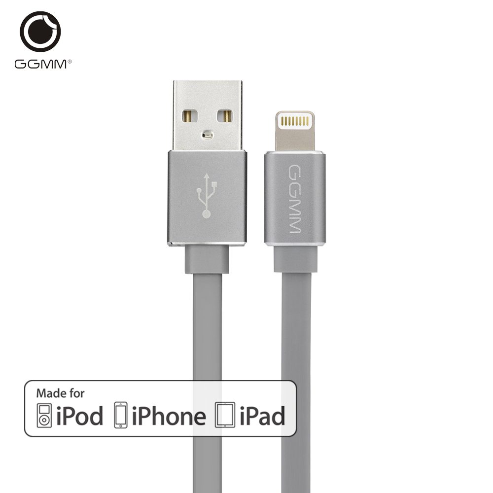 GGMM Micro USB Cable for iPhone 5 5s 6 6s apple Original MFI certified Fast Charging USB Cable Data Charger Mobile Phone Cables