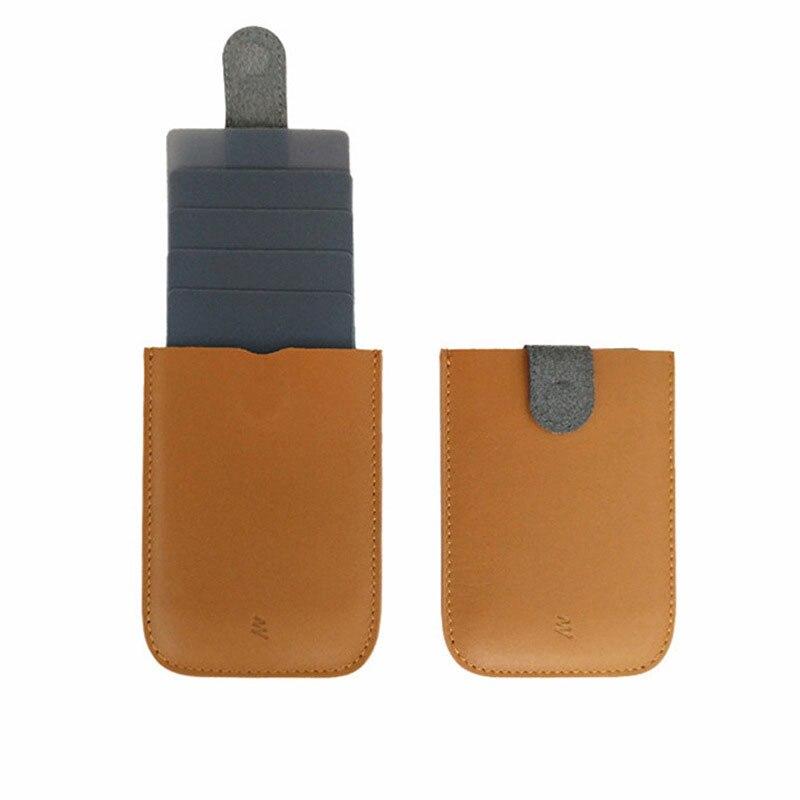 Fityle Men Wallet Business Credit Card Holder Magnet Cash Money Clip Mini Purse