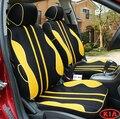 Cubierta de asiento de coche especial para Kia Cerato Sportage KIA K2K3K5 Optima Maxima carnaval rio ceed NEGRO/GRIS/ROJO accesorios del coche