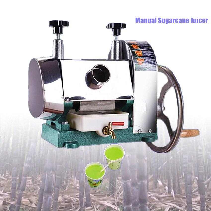 Stainless Steel Manual Sugarcane Juicer Machine/sugar cane juice machine/sugar cane crusher machine/sugar cane extractor 50KG/H
