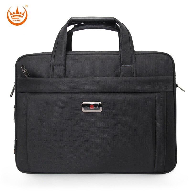 Men Oxford Briefcase 16 Inch Laptop Shoulder Bag For Male Large Capacity Handbag Business Computer Bag Travel Large Tote