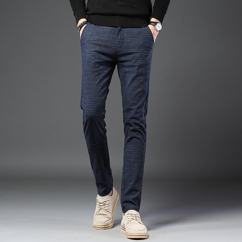 Pantalones largos de moda de algodón de alta calidad Casual de verano 2019 para hombre
