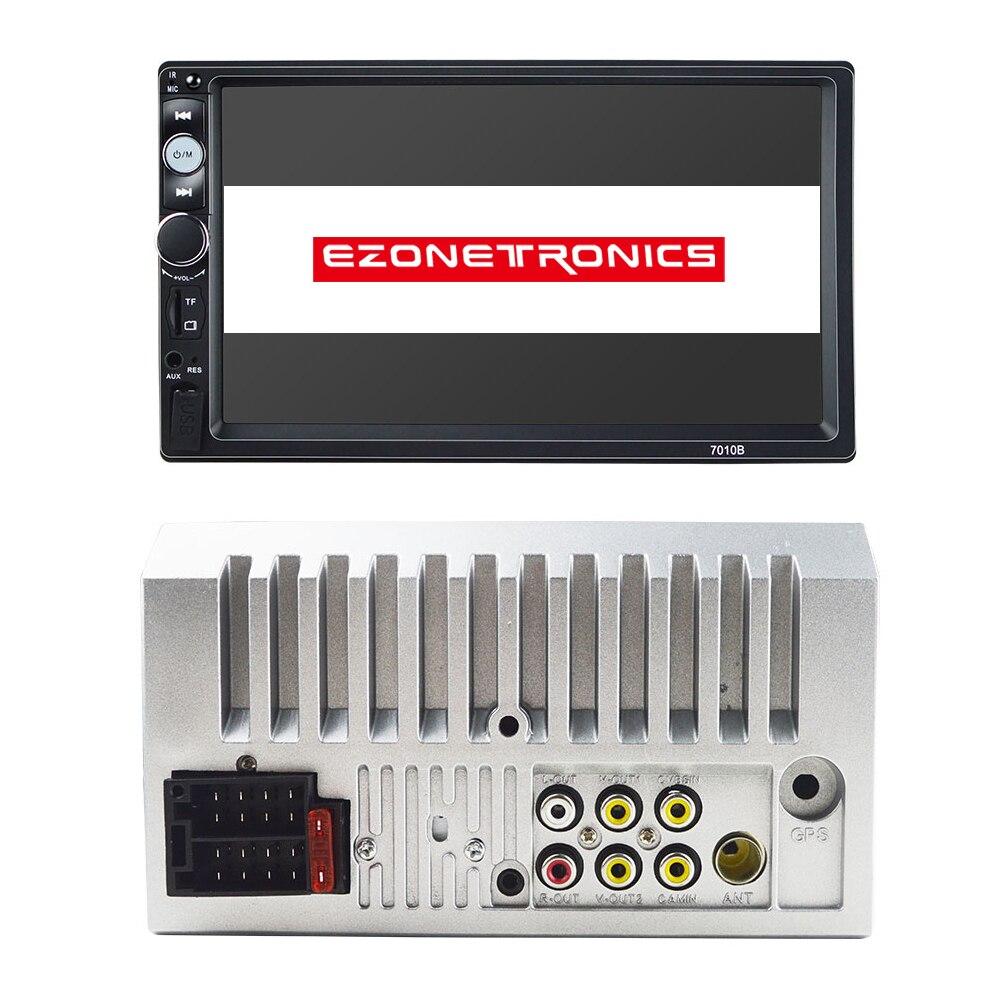 Autoradio 2 din autoradio lecteur miroir lien général voiture modèles 7 ''pouces LCD écran tactile Bluetooth auto stéréo subwoofer
