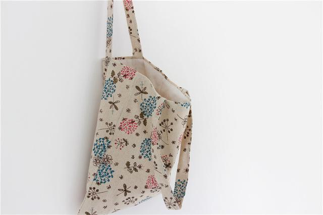 2017 Popular Western Style Ladies Canvas Shoulder Bag printing Pattern Girls Women Tote Hand bag Lady Handbag